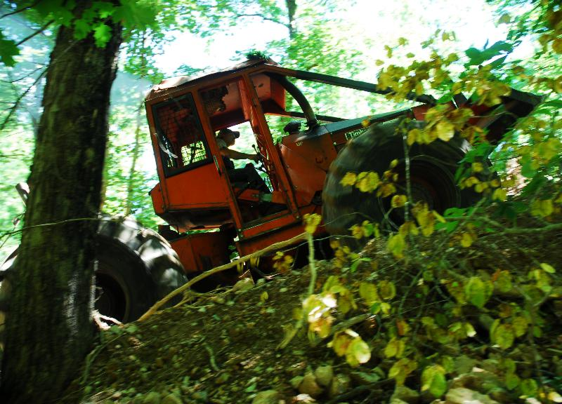 WARREN LAND SKIDDER GOES FOR LOGS_sized for Internet