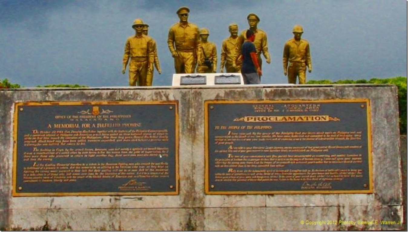 3D_THE GENERAL AND PARTY COME ASHORE STATUES 2012 PHOTO TWO_5434_resized