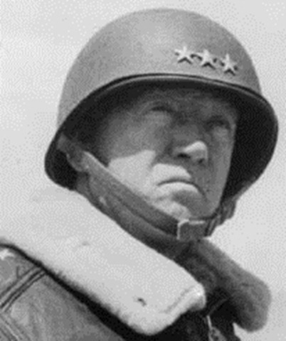 Lt General George S Patton Jr US Army Signal Corps Photo