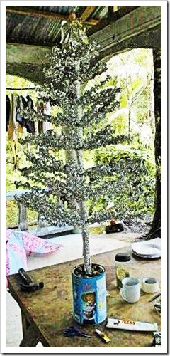 The Built Tree Stands Ready To Be Decorated Nikon D 100 Photo by Samuel E. Warren Jr._resized