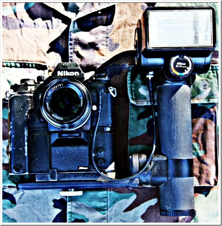 My Classic U S Air Force Photographers Camera and Flash Gun of the 1980s_3825 (1)_resized