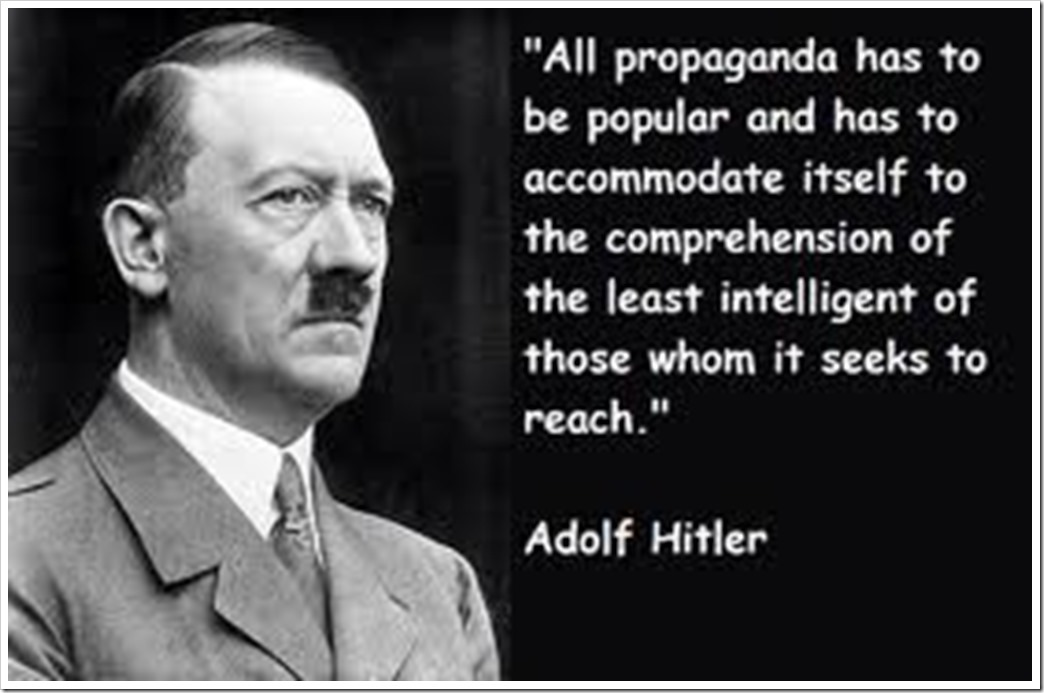 hitler propaganda statement images