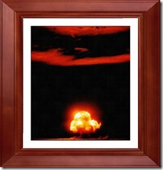 FotoSketcher - TRINITY SHOT NUCLEAR TEST EXPLOSION JULY 16 1945 US GOVERNMENT PHOTO IN THE PUBLIC DOMAIN THUMBNAIL PHOTO ICON